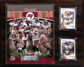 "NFL 12""x15"" Tampa Bay Buccaneers 2012 Team Plaque"