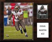 """NFL 12""""x15"""" Doug Martin Tampa Bay Buccaneers Player Plaque"""