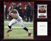 """NFL 12""""x15"""" Mike Evans Tampa Bay Buccaneers Player Plaque"""