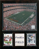 "NFL 12""x15"" FedEx Field Stadium Plaque"