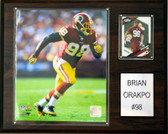 "NFL 12""x15"" Brian Orakpo Washington Redskins Player Plaque"
