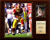 "NFL 12""x15"" Santana Moss Washington Redskins Player Plaque"