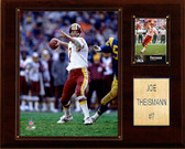 "NFL 12""x15"" Joe Theisman Washington Redskins Player Plaque"