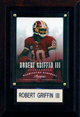 "NFL 4""x6"" Robert Griffin III Washington Redskins Player Plaque"