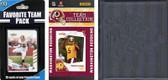 NFL Washington Redskins Licensed 2010 Score Team Set and Favorite Player Trading Card Pack Plus Storage Album
