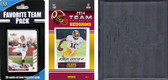 NFL Washington Redskins Licensed 2014 Score Team Set and Favorite Player Trading Card Pack Plus Storage Album