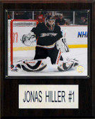"NHL 12""x15"" Jonas Hiller Anaheim Ducks Player Plaque"
