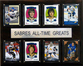"NHL 12""x15"" Buffalo Sabres All-Time Greats Plaque"