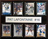 "NHL 12""x15"" Pat LaFontaine Buffalo Sabres 8-Card Plaque"