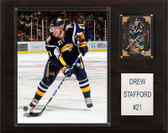 "NHL 12""x15"" Drew Stafford Buffalo Sabres Player Plaque"