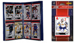 NHL Buffalo Sabres Licensed 2010 Score Team Set and Storage Album