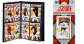 NHL Buffalo Sabres Licensed 2011 Score Team Set and Storage Album