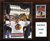 "NHL 12""x15"" Andrew Shaw Chicago Blackhawks Player Plaque"