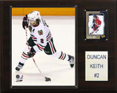 "NHL 12""x15"" Duncan Keith Chicago Blackhawks Player Plaque"