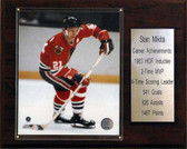 "NHL 12""x15"" Stan Mikita Chicago Blackhawks Career Stat Plaque"