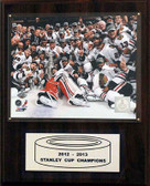 "NHL 12""x15"" Chicago Blackhawks 2012-2013 Stanley Cup Celebration Plaque"