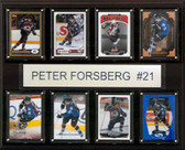 "NHL 12""x15"" Peter Forsberg Colorado Avalanche 8-Card Plaque"