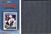 NHL Colorado Avalanche 2014 O-Pee-Chee Team Set and a storage album