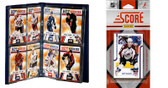 NHL Colorado Avalanche Licensed 2011 Score Team Set and Storage Album