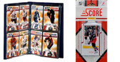 NHL Columbus Blue Jackets Licensed 2011 Score Team Set and Storage Album