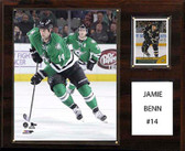 "NHL 12""x15"" Jamie Benn Dallas Stars Player Plaque"