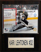 "NHL 12""x15"" Kari Lehtonen Dallas Stars Player Plaque"