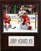 "NHL 12""x15"" Jimmy Howard Detroit Red Wings Player Plaque"