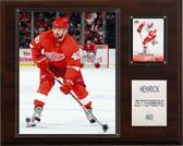 "NHL 12""x15"" Henrik Zetterberg Detroit Red Wings Player Plaque"