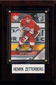 "NHL 4""x6"" Henrik Zetterberg Detroit Red Wings Player Plaque"