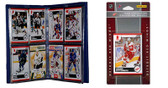 NHL Detroit Red Wings Licensed 2010 Score Team Set and Storage Album