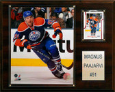 "NHL 12""x15"" Magnus Paajarvi Edmonton Oilers Player Plaque"