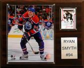 "NHL 12""x15"" Ryan Smith Edmonton Oilers Player Plaque"