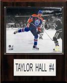 "NHL 12""x15"" Taylor Hall Edmonton Oilers Player Plaque"