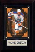 "NHL 4""x6"" Wayne Gretzky Edmonton Oilers Player Plaque"