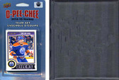 NHL Edmonton Oilers 2014 O-Pee-Chee Team Set and a storage album