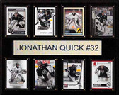"NHL 12""x15"" Jonathan Quick Los Angeles Kings 8-Card Plaque"