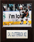 "NHL 12""x15"" Cal Clutterbuck Minnesota Wild Player Plaque"