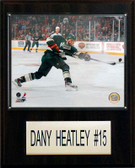 "NHL 12""x15"" Dany Heatley Minnesota Wild Player Plaque"