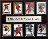 "NHL 12""x15"" Mikko Koivu Minnesota Wild 8-Card Plaque"