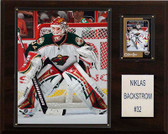 "NHL 12""x15"" Niklas Backstrom Minnesota Wild Player Plaque"
