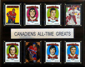 "NHL 12""x15"" Montreal Canadiens All-Time Greats Plaque"