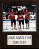 "NHL 12""x15"" Beliveau-Richard-Lafleur Montreal Canadiens Player Plaque"