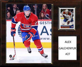 "NHL 12""x15"" Alex Galchenyuk Montreal Canadiens Player Plaque"