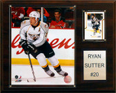 "NHL 12""x15"" Ryan Sutter Nashville Predators Player Plaque"