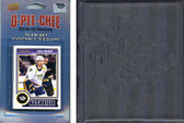 NHL Nashville Predators 2014 O-Pee-Chee Team Set and a storage album