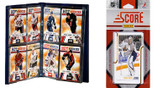 NHL Nashville Predators Licensed 2011 Score Team Set and Storage Album