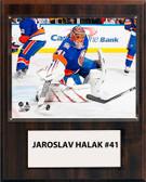 "NHL 12""x15"" Jaroslav Halak New York Islanders Player Plaque"