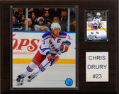 "NHL 12""x15"" Chris Drury New York Rangers Player Plaque"