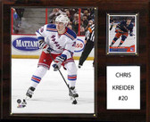 "NHL 12""x15"" Chris Kreider New York Rangers Player Plaque"