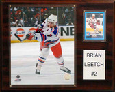 "NHL 12""x15"" Brian Leetch New York Rangers Player Plaque"